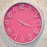 """Часы настенные """"Smile pink"""" (30 см.), фото 1"""
