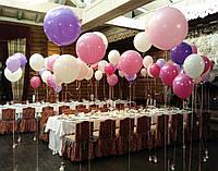 Сколько нужно шаров в комнату (1-6 шт на 1 м*2)
