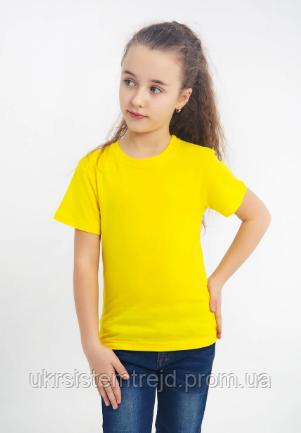 Футболка детская (желтая)