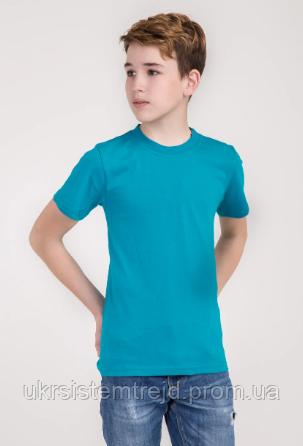 Футболка детская (голубой)