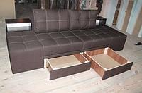 """Угловой диван """"Лего+"""" (Домино).  """"ткань 1"""""""
