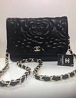 Женская сумка Chanel маленькая экокожа реплика