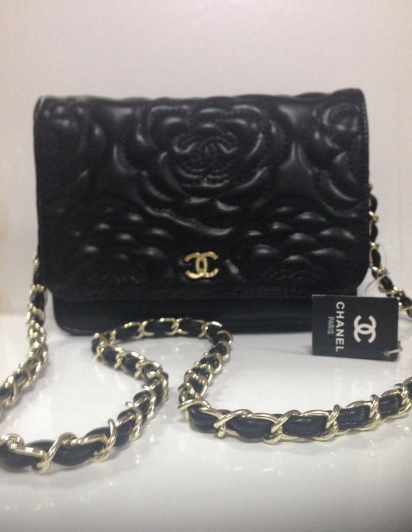 Женская сумка Chanel маленькая экокожа реплика - Интернет-магазин