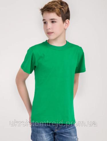 Футболка детская (зеленая)