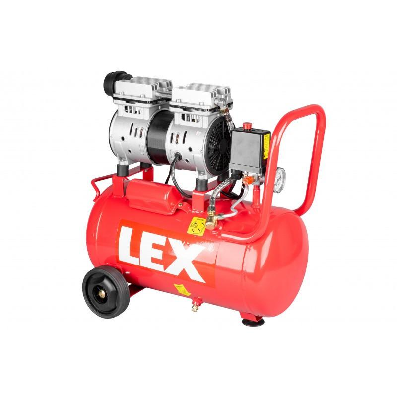 Компрессор воздушный безмасляный одноцилиндровый LEX 24 л LXAC-24-11LO