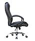 Кресло офисное компьютерное AMB Черное Нагрузка 130 кг  ПОЛЬША, фото 4