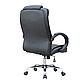 Кресло офисное компьютерное AMB Черное Нагрузка 130 кг  ПОЛЬША, фото 3