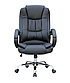 Кресло офисное компьютерное AMB Черное Нагрузка 130 кг  ПОЛЬША, фото 2