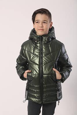 Куртка на хлопчика розміри 134-158 хакі