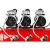 Безмасляный бесшумный компрессор LEX LXAC85-28LO - емкость 85 литров, фото 2