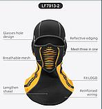 Балаклава ROCKBROS LF7913 до -10! зимовий фліс лижна маска, підшоломник, фото 5
