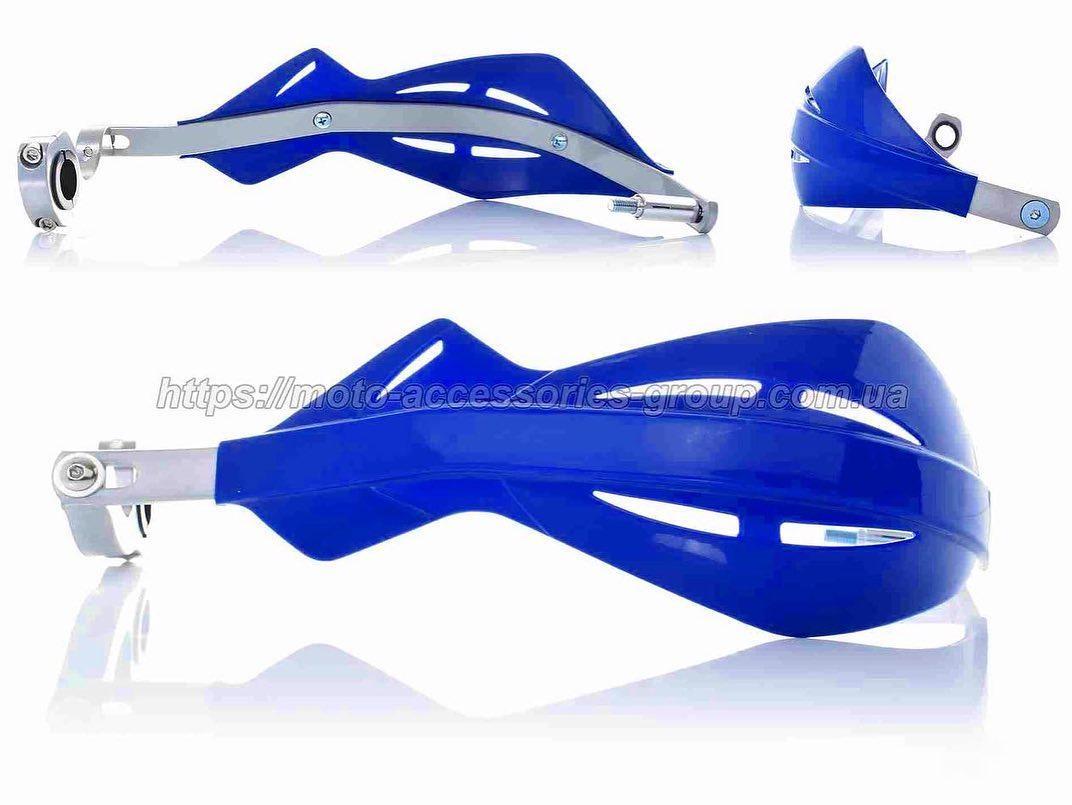 Защита рук Motovan (армированная) Синяя
