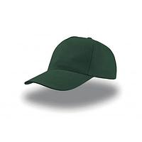Кепка темно-зелена