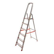 Стремянка алюминиевая Laddermaster Alcor A1A6. 6 ступенек
