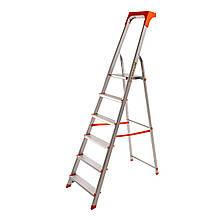 Стремянка алюминиевая Laddermaster Alcor A1AT6. 6 ступенек
