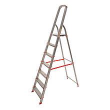 Стремянка алюминиевая Laddermaster Vega A1B7. 7 ступенек