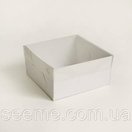 Коробка с пластиковой крышкой 150х150х70 мм