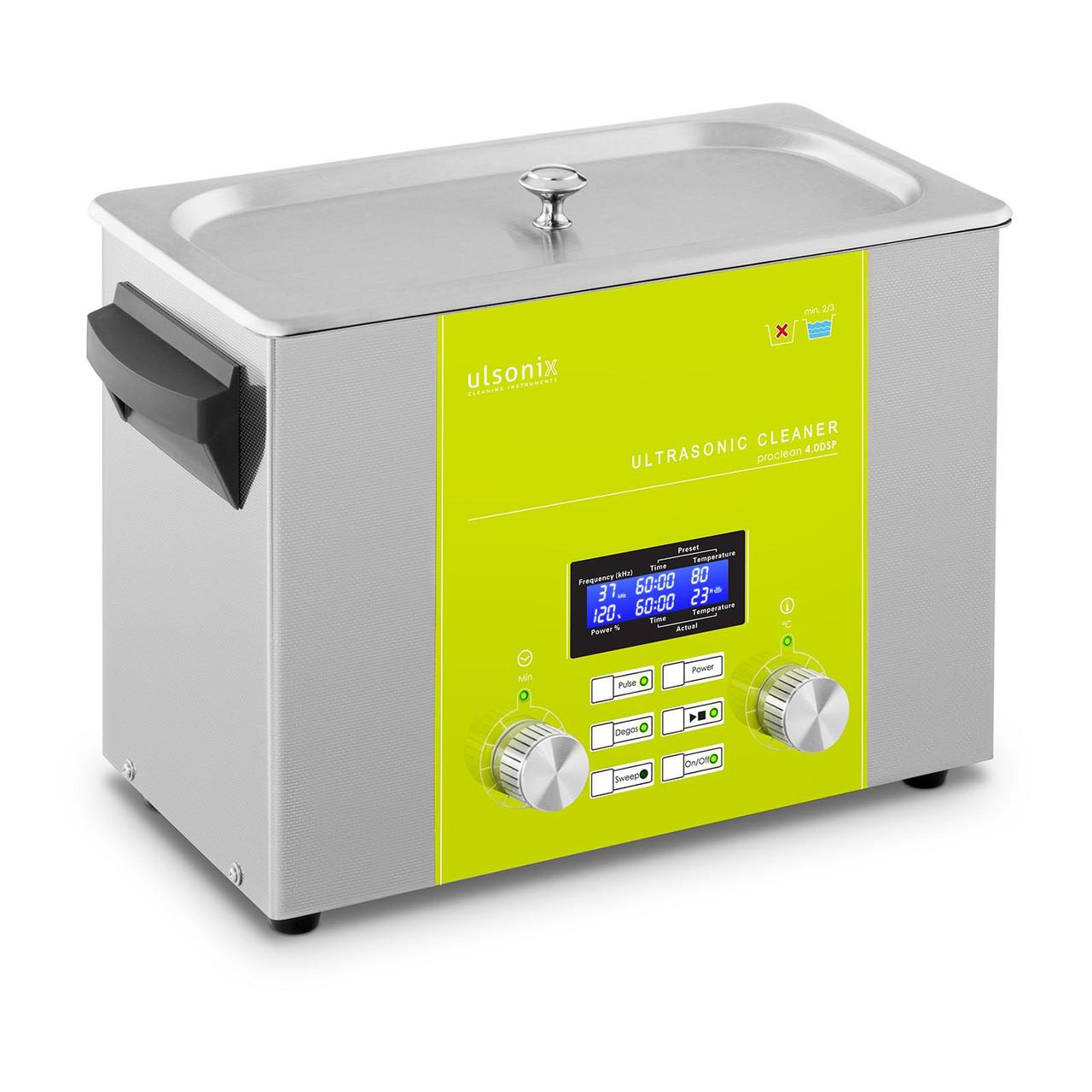 Ультразвуковий очищувач - 4 літри - 160 Вт - DSP Ulsonix