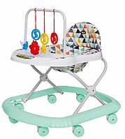 Детская каталка-ходунки, интерактивные, Tilly Smile, T-4210-Azure