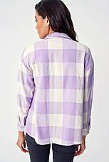 Женские  рубашки байка оверсайз, фото 3