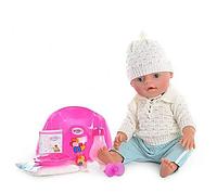 Пупс кукла Маленькая Ляля BB 8001-E (Зима) новорожденный с аксессуарами Т