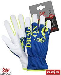 Захисні рукавички з якісної козячої шкіри RLDRAGON NWY