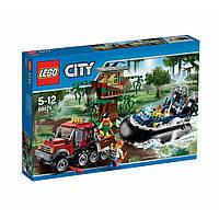 LEGO® City БОЛОТНАЯ ПОЛИЦИЯ - Полицейское судно на воздушной подушке