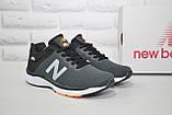 Кросівки чоловічі в стилі New Balance 860 темно сірі сітка, фото 3