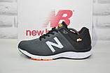 Кросівки чоловічі в стилі New Balance 860 темно сірі сітка, фото 4