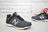 Кросівки чоловічі в стилі New Balance 860 темно сірі сітка, фото 6
