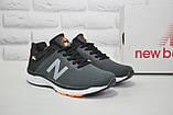 Кросівки чоловічі в стилі New Balance 860 темно сірі сітка, фото 5