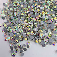 Термо стрази Blinginbox ss16 Crystal AB (4.0 mm) 1440шт