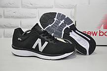 Кроссовки мужские в стиле New Balance 860 черные сетка