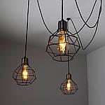 Люстра-паук LS 2100-6G, фото 5