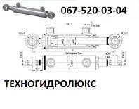 Гидроцилиндр для комбайна МС40/25х180-3.11(405)