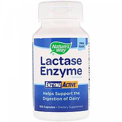 Nature's Way Lactase Enzyme Formula, Формула ферменту лактази (100 капс.)