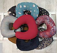 Подушка для путешествий EKKOSEAT, дорожные, ортопедические для шеи. Ассорти.