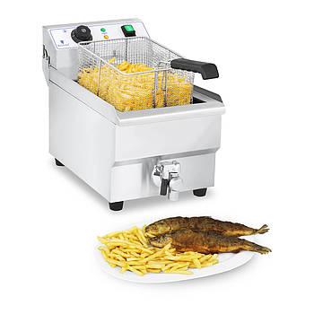 Электрическая фритюрница - 10 л - 3000 Вт Royal Catering Марка Европы