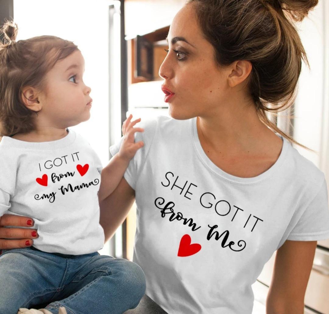 Парный family look мама и дочка