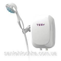 Ел. проточний в-н TESY з душовою лійкою 5,0 кВт (IWH 50 X02 BA H)