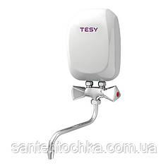 Ел. проточний в-н TESY із змішувачем 5,0 кВт (IWH 50 X02 KI)
