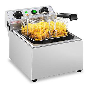 Фритюрница - 10 литров - 3200 Вт - таймер Royal Catering Марка Европы