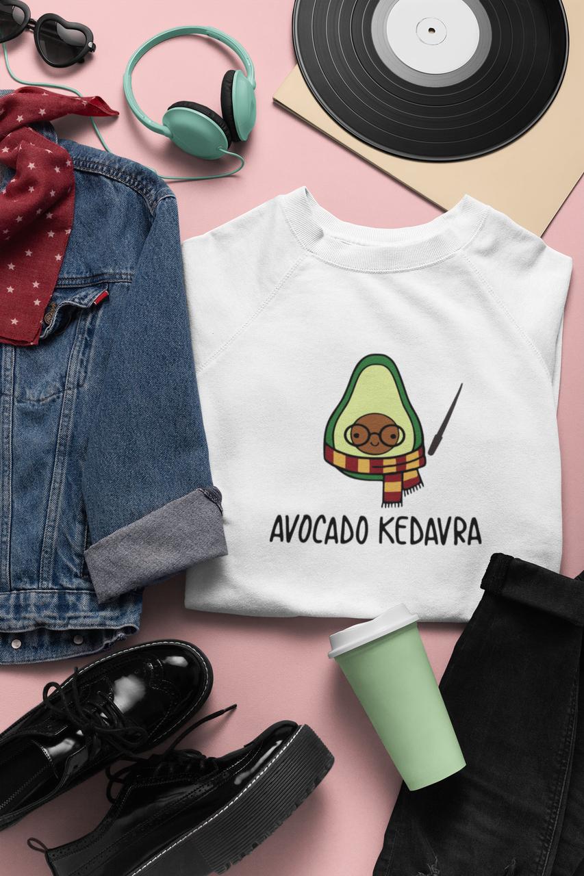 """Світшот з принтом  """"Авокадо кедавра"""""""