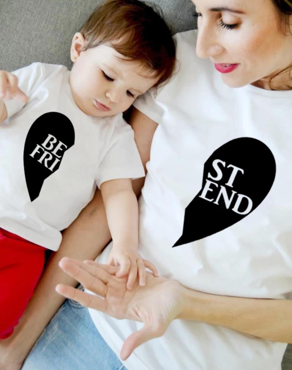 Парный family look мама и сын