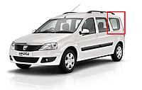 Стекло в кузове заднее левое Dacia Logan универсал фаза 1/2