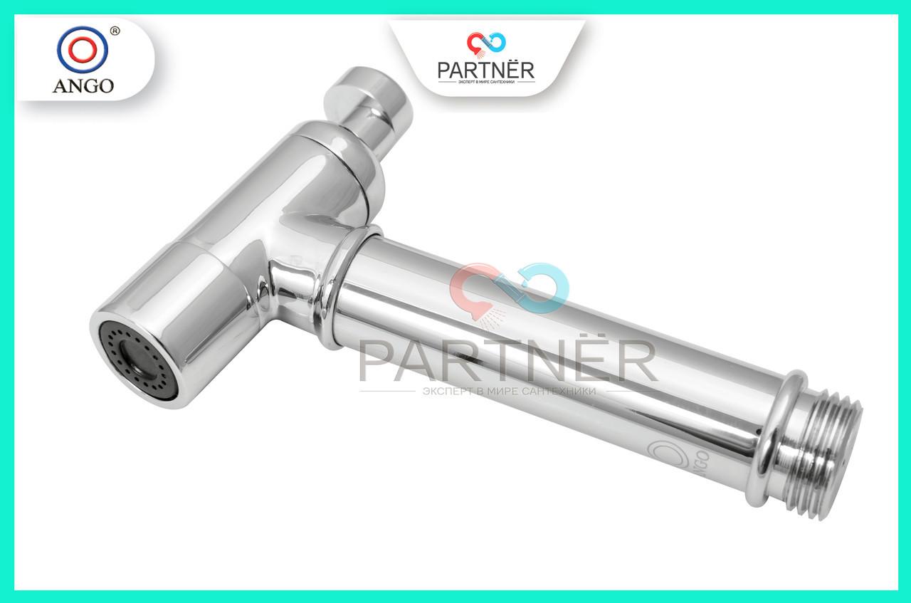 Лейка для биде латунная хромированная, плавная регулировка на картридже, PT 410201, ANGO BRAS 62