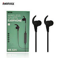 Bluetooth наушники Remax RB-S25 Wireless Sports Черные