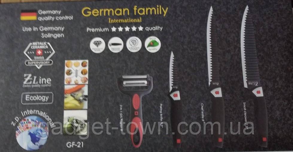 Набор ножей 4 предмета German Family GF-21