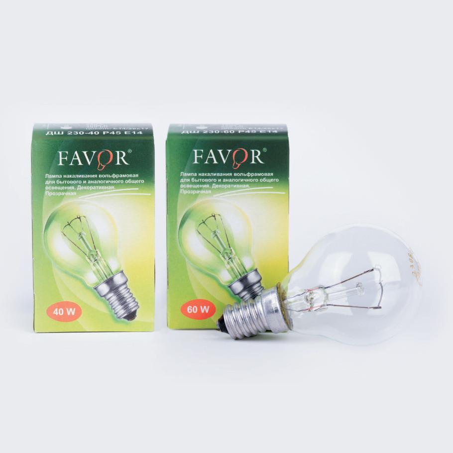 Лампа накаливания Шар 40 Ватт Е14