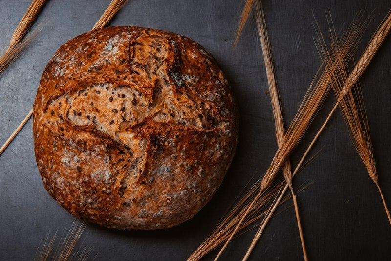 Хліб з льоном, 500 г